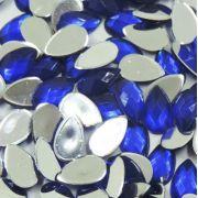 Chaton Colagem Gota Cor Azul Escuro
