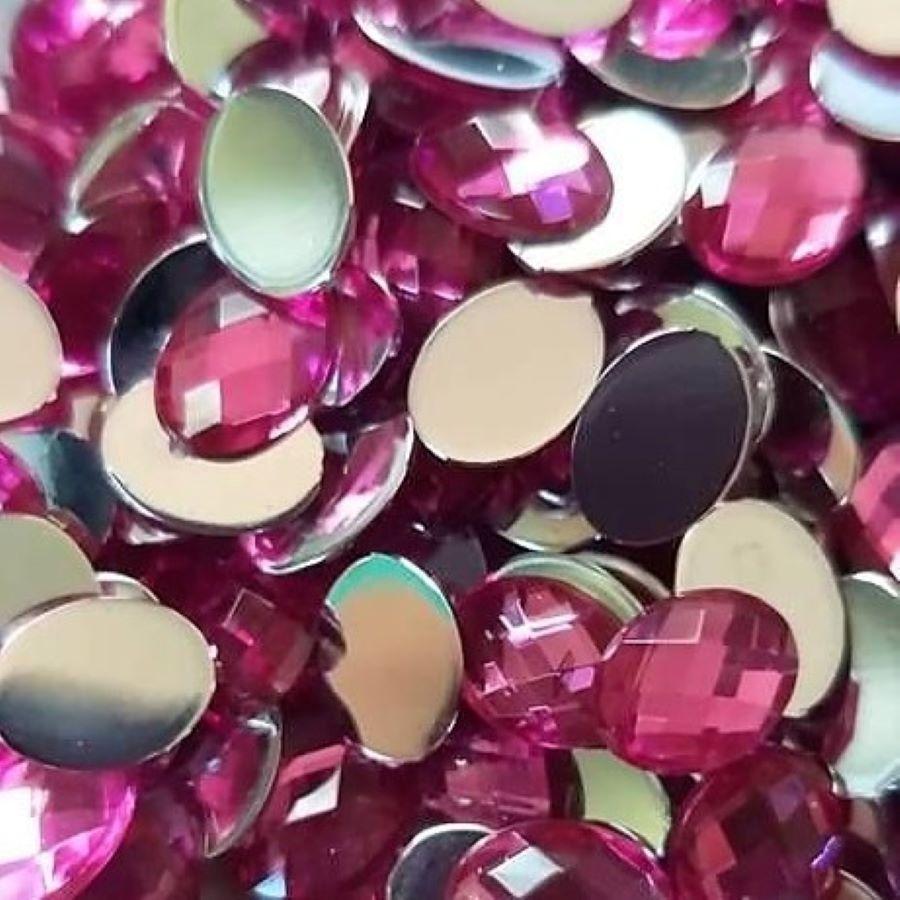 Chaton Colagem Oval Cor Pink  - SanBiju
