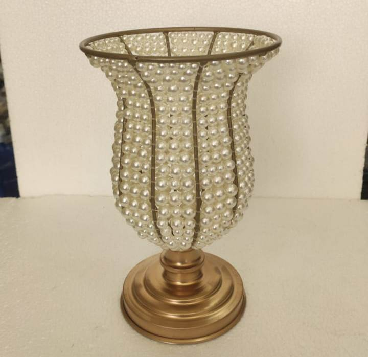 Vaso de Pérola 25 cm   - SanBiju