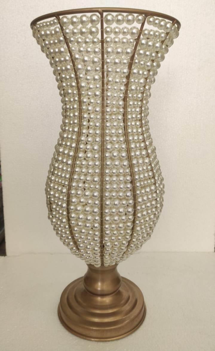 Vaso de Pérola 45 cm   - SanBiju