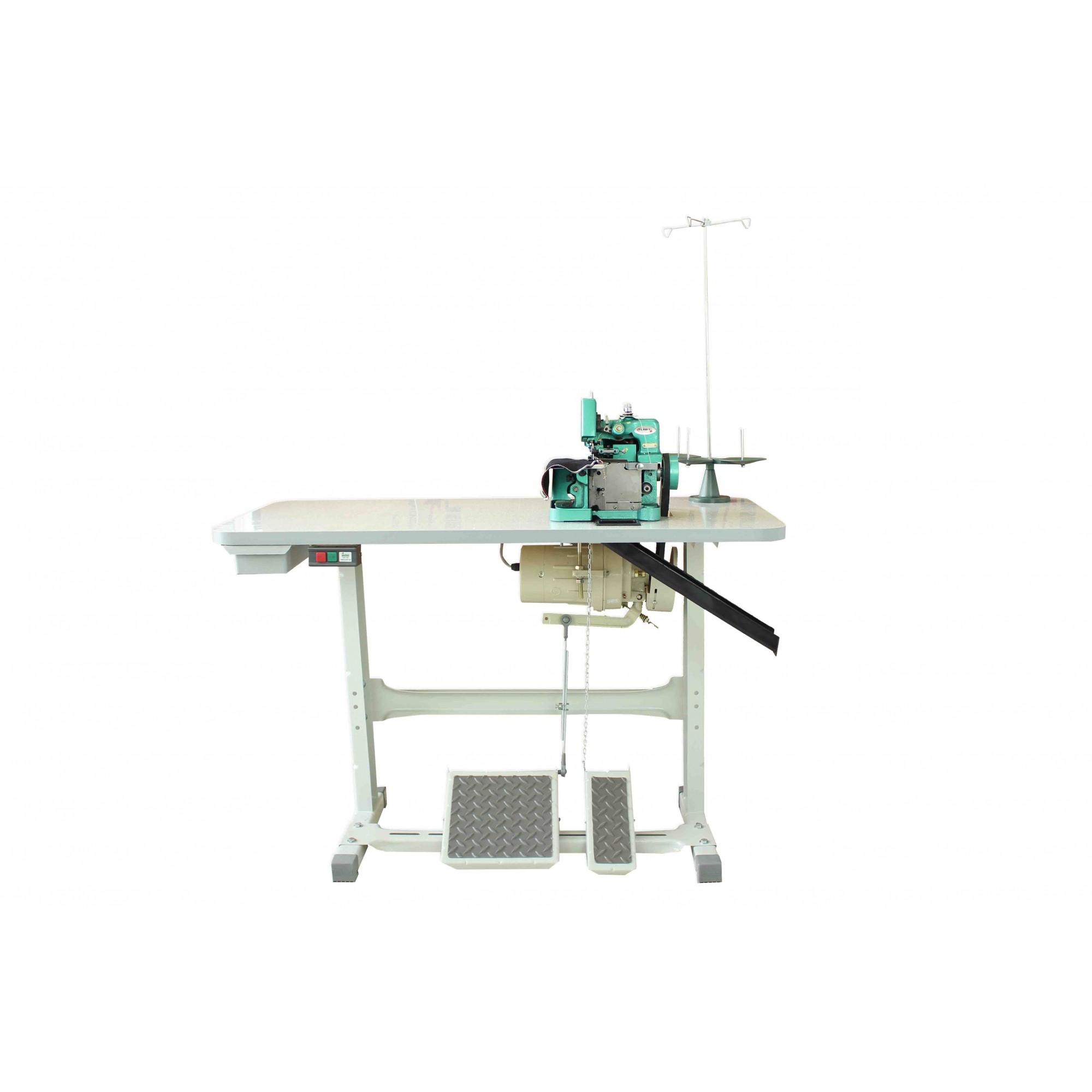 Máquina de costura Overloque Semi Industrial com MOTOR INDUSTRIAL