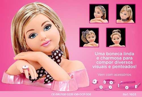 Boneca Charmosa Com Som - Cotiplás