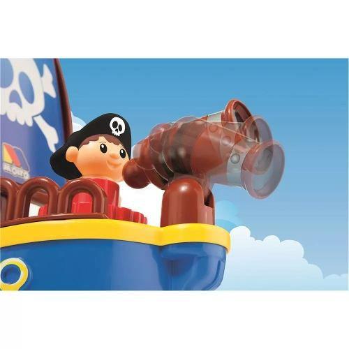 Baby Land Cardoso Navio Pirata - Colorido