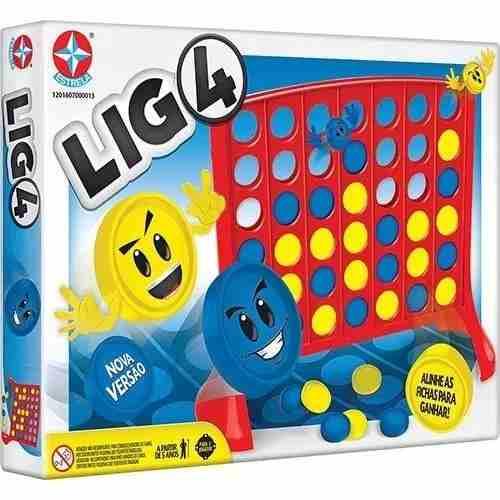 Jogo Lig4 Nova Versão Original Estrela
