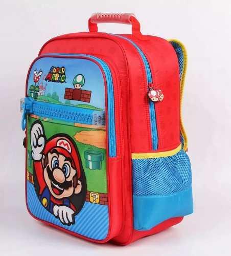 Mochila Bolsa Grande Dmw Super Mario Bros 11543