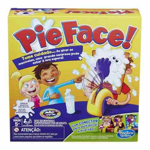 Jogo Pie Face Torta Na Cara Com Conector Hasbro