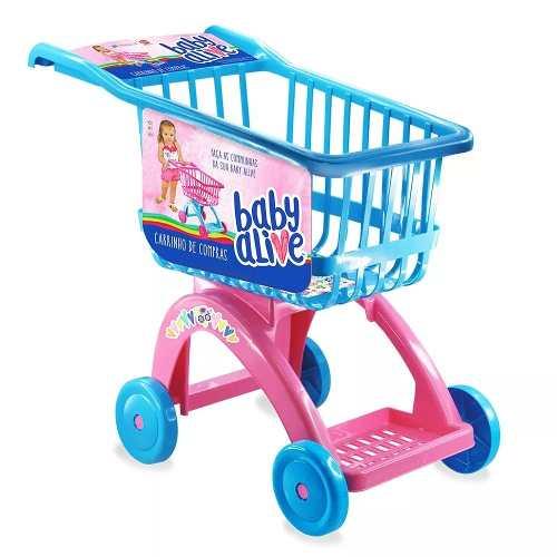 Carrinho De Compras Infantil Mercado Hasbro Lider