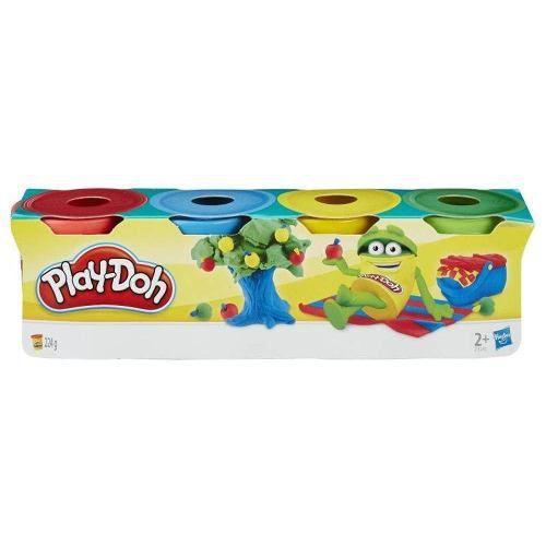 Massinha Play-doh Kit Com 4 Mini Potes - Hasbro