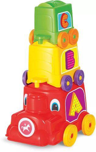 Brinquedo Educativo Locomotiva Animada Calesita Unidade