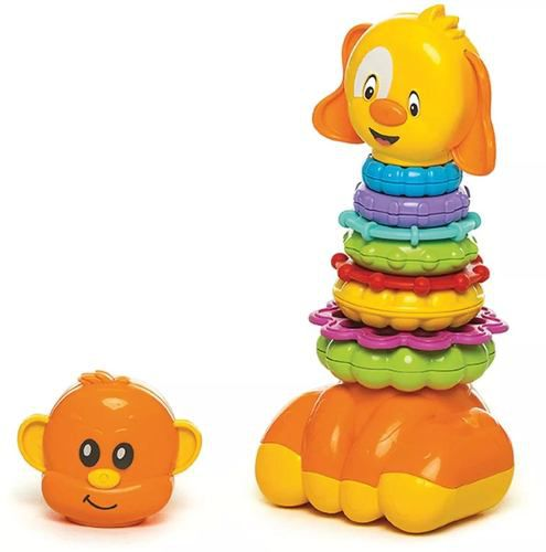 Brinquedo Educativo Zoo Argolas Para Montar - Calesita