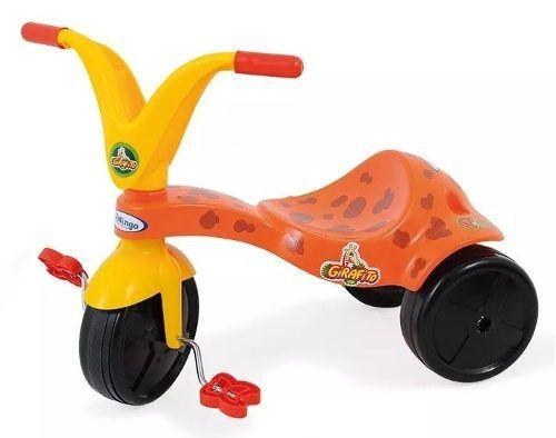 Triciclo Girafito Com Adesivos Para Decorar - Xalngo