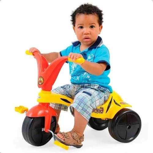 Triciclo Motoca Tico Tico Infantil Tigrão 7621 Xalingo