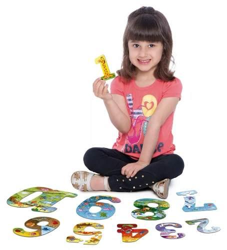 Quebra-cabeça Explorando Os Números - Toyster