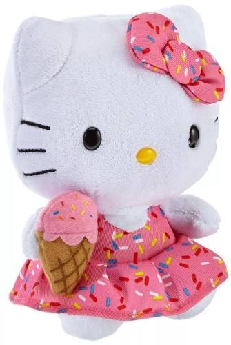 Pelúcia Beanie Babies Ty Hello Kitty Sorvete - Original Dtc