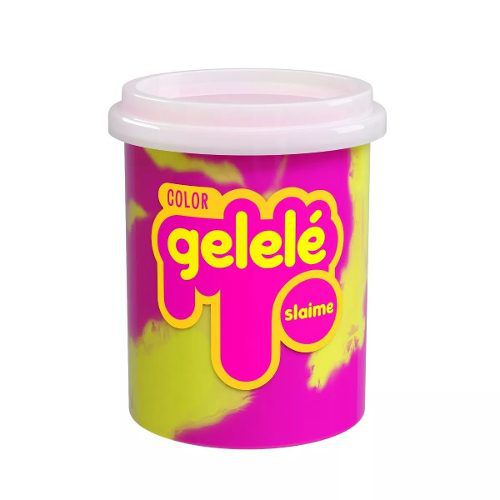 Gelelé Slime Massinha Meleca Color Kit Com 10 Unid. Sortido