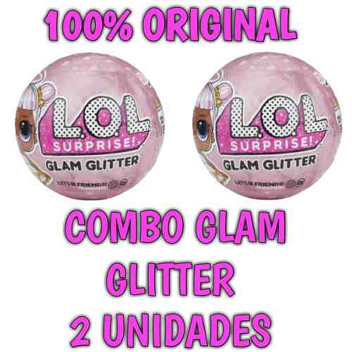 Lol Glam Gliter 2018 Kit 2 Unidades + Nf