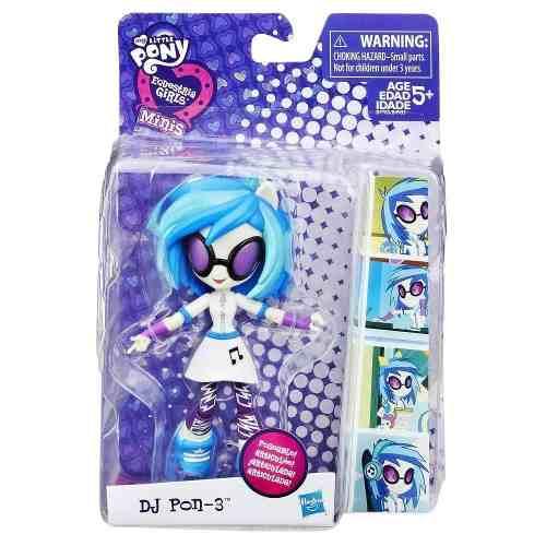 Mini Figura My Little Pony Equestria Girls Dj Pon 3 B7785