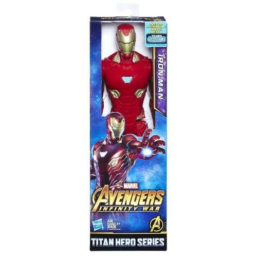 Homem De Ferro Vingadores - Guerra Infinita Titan Hero 30cm