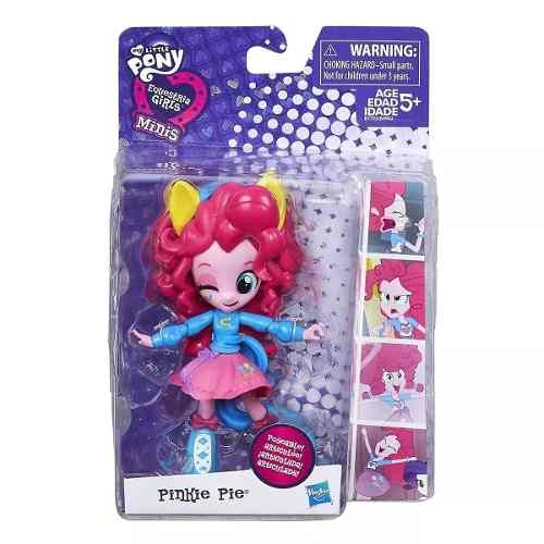 My Little Pony - Boneca Mini Equestria Girls - Pinkie Pie