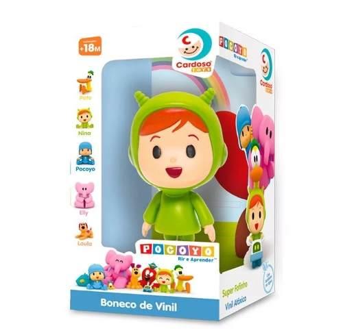 Boneco De Vinil Pocoyo Cardoso Toys Nina - 275