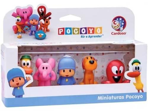 Miniaturas Dedoches Turma Do Pocoyo - Cardoso
