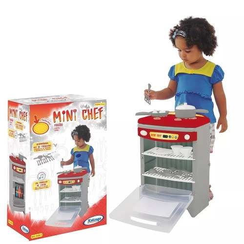Fogão Infantil - Mini Chef - Xalingo