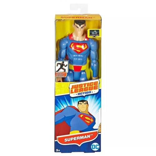 Boneco Superman Liga Da Justiça 30cm - Dc Mattel