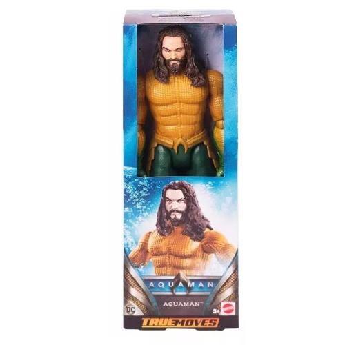 Boneco Aquaman True Moves Aquaman - Fxf91 Mattel