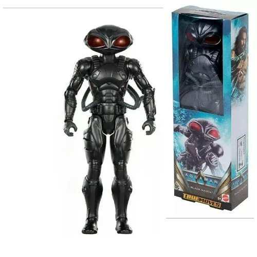 Boneco Black Manta Arraiá Negra Aquaman Filme 30 Cm Mattel