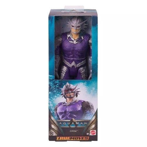Boneco Articulado Aquaman True Moves Orm Marius 30 Cm Mattel