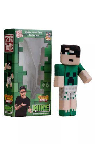 Boneco Tazer Craft Mike Zr Toys - C3038