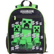 Mochila Bolsa Escolar Minecraft Effect G Dmw