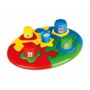 Brinquedo Didatico Quebra Cabeça Duo Baby Puzzle - Calesita