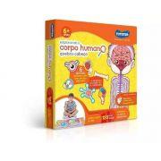 Quebra cabeça Infantil 120 Peças O Corpo Humano - Toyster