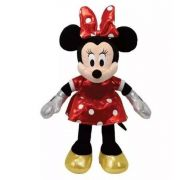 Pelúcia Minnie Mouse Ty Beanie Babies Ursinho Ty Original
