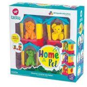 Brinquedo Educativo Casinha Home Pet Infantil - Calesita