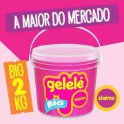 Gelelé Slime Meleca Geléia Massinha Big Balde 2 Kg