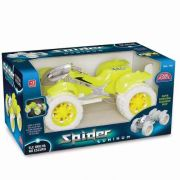 Carrinho De Brinquedo Spider Luminum Usual Brinquedos