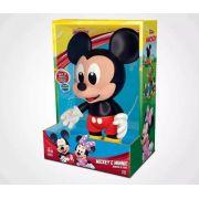 Boneco do Mickey e Minnie De Vinil - Líder Brinquedos