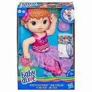 Baby Alive Original Linda Sereia Ruiva Hasbro - E3693