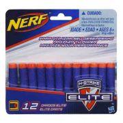 Dardos Nerf - N-strike Elite - 12x - Hasbro