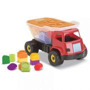 Caminhão Educativo Dino Sabidinho Baby Land - Cardoso Toys