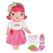 Boneca Baby Moranguinho - Faz Xixi Com Acessórios - Mimo
