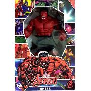 Boneco Hulk Vermelho Mimo Original  Revolution 40 cm