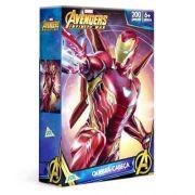 Quebra cabeça Homem De Ferro 200 Peças Os Vingadores - Toyster