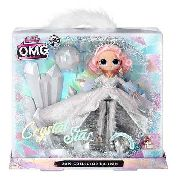 Boneca Lol Crystal Star O.m.g. Brilhante Com Luz FULL