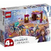 Lego Frozen 2 A Aventura Em Caravana Da Elsa - 116 Peças FULL