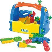 Caixa De Ferramentas Infantil 18pçs - Calesita 0453 FULL L