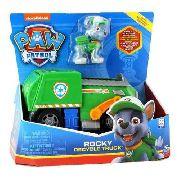 Brinquedo Patrulha Canina Boneco Veiculo Rocky - Sunny 1389 FULL