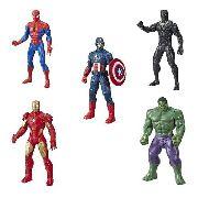Kit Bonecos Vingadores Marvel 25cm Original - Hasbro E5556